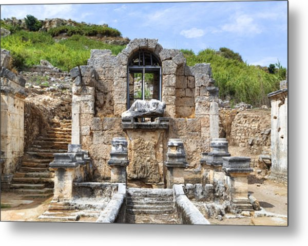 Perge - Turkey Metal Print