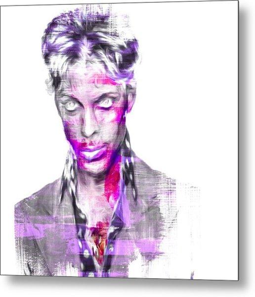 Prince & The Revolution. The Artist Metal Print