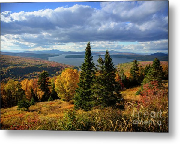 Rangeley Overlook Metal Print