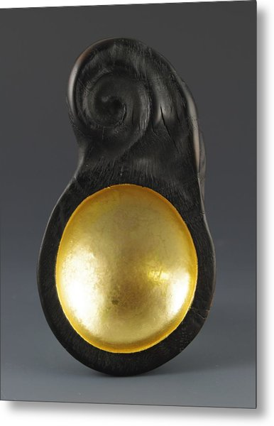 Sacred Spoon Of The Pemaquid Rock People Metal Print by Jacques Vesery