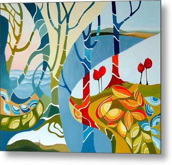 Seasons Of Creation Metal Print by Carola Ann-Margret Forsberg