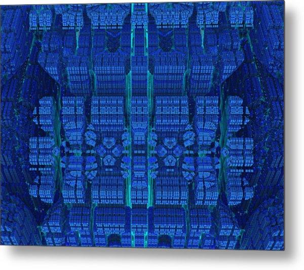 Settlement In Deep Space Metal Print