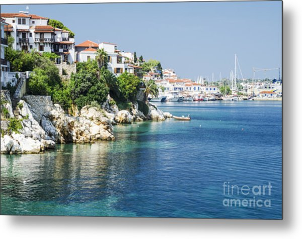 Skiathos Island, Greece Metal Print
