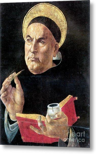 St. Thomas Aquinas Metal Print
