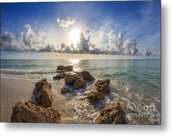 Sunset Naples Fl Metal Print