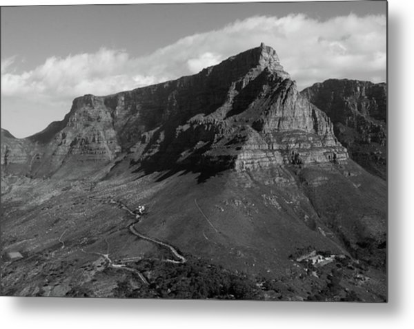 Table Mountain - Cape Town Metal Print