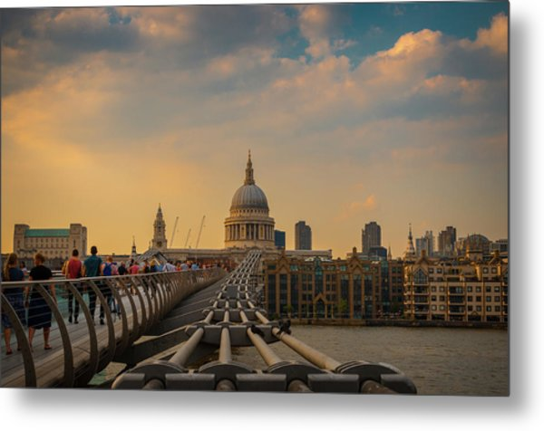 Metal Print featuring the photograph Thames View by Stewart Marsden