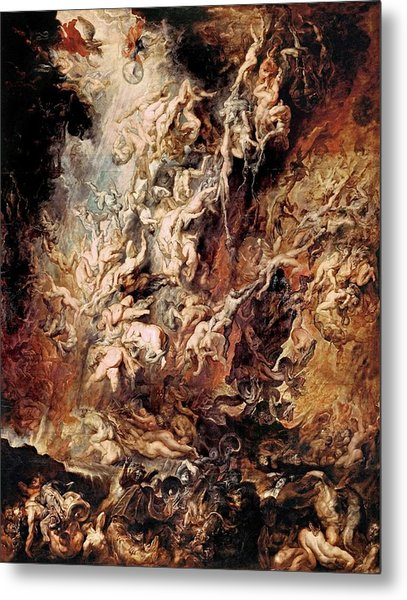 The Fall Of The Damned Metal Print