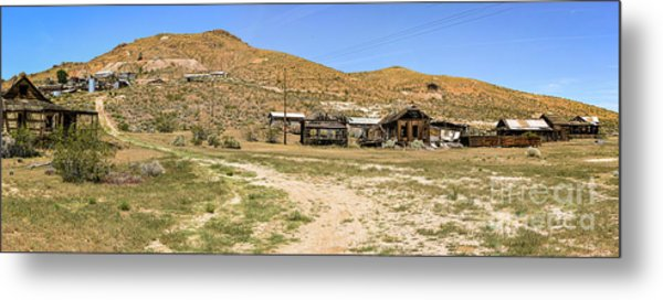 The Ghost Town Metal Print