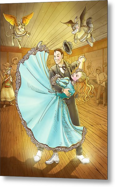 The Magic Dancing Shoes Metal Print