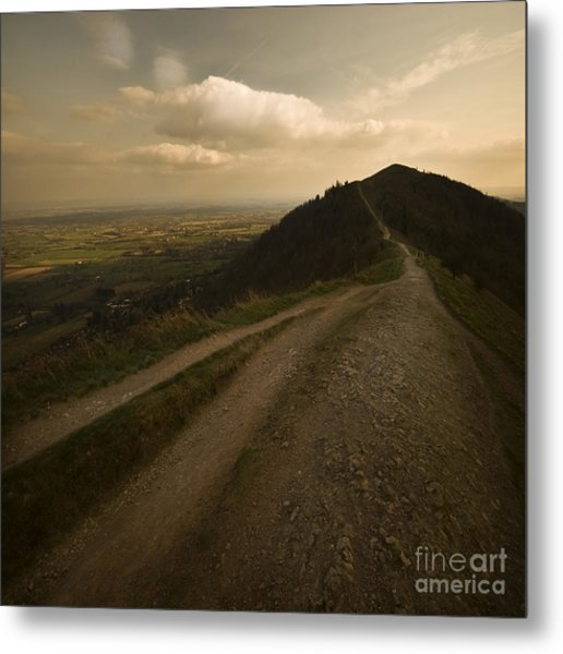 The Malvern Hills Metal Print by Angel Ciesniarska