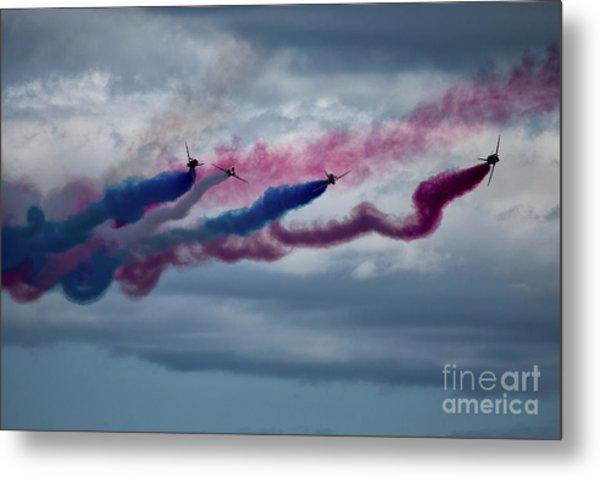 The Red Arrows Metal Print