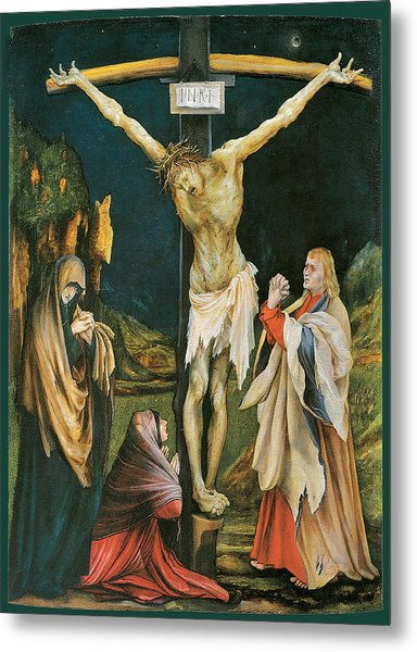 The Small Crucifixion Metal Print