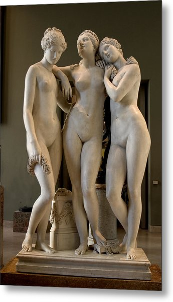 The Three Graces Metal Print by Carl Purcell
