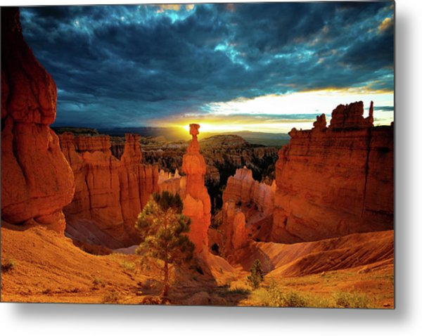 Metal Print featuring the photograph Thor's Hammer by Norman Hall