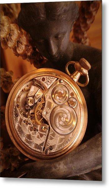 Time... Metal Print