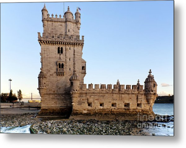 Tower Of Belem Metal Print by Andre Goncalves
