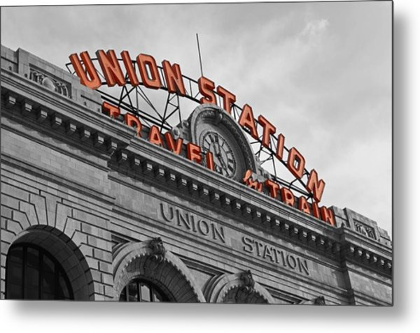 Union Station - Denver  Metal Print