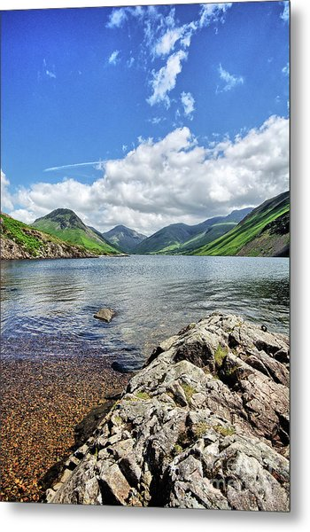 Wastwater Metal Print