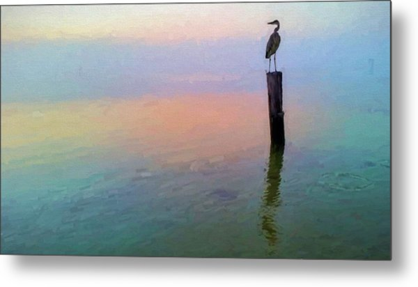 Watching Over Pensacola Bay Metal Print by JC Findley