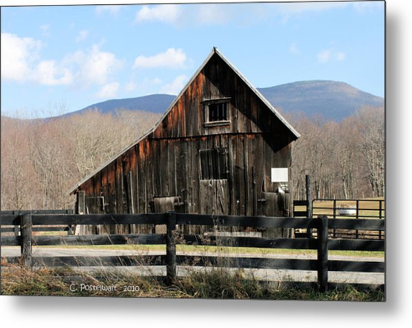 West Virginia Barn Metal Print