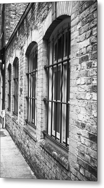 Window Bars Metal Print