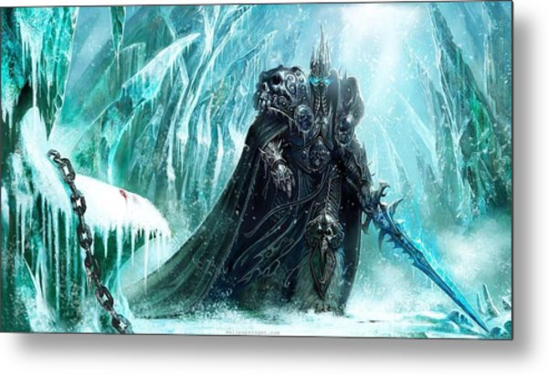 World Of Warcraft Wrath Of The Lich King Metal Print