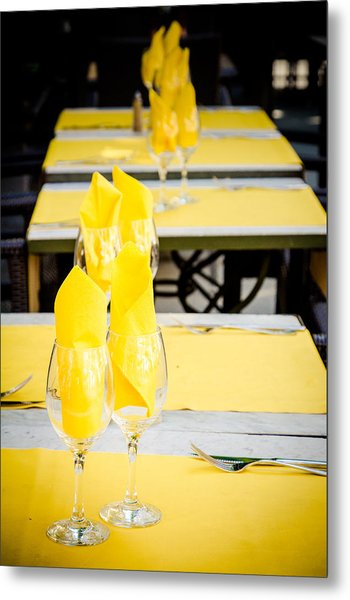 Metal Print featuring the photograph Yellow by Jason Smith