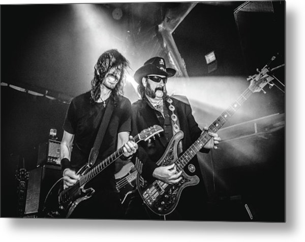 Uk Foo Fighters Live @ O2 Academy Islington Metal Print