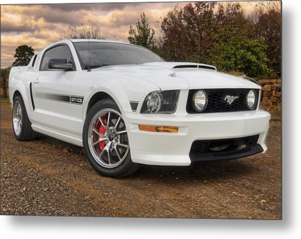 2008 Mustang Gt/cs - California Special - Sunset Metal Print