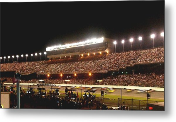 2009 Coke Zero 400 At Daytona International Speedway Metal Print