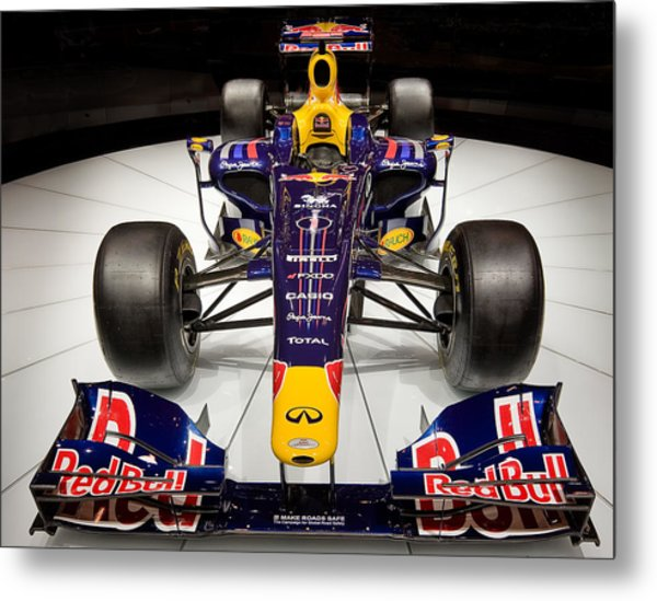 2010 Red Bull F1 Metal Print