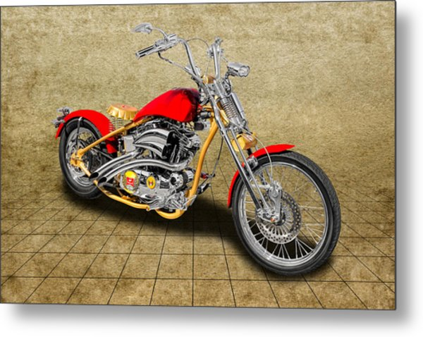 2014 Custom Built Harley Davidson Springer Motorcycle - 14hdcusp3 by Frank  J Benz