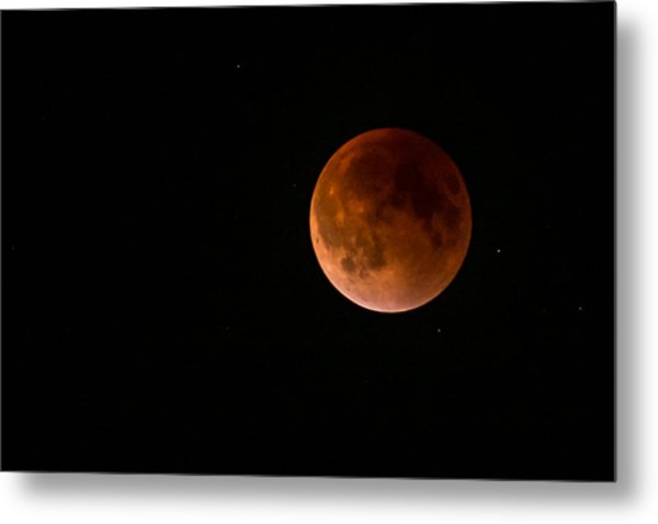 2015 Blood Harvest Supermoon Eclipse Metal Print