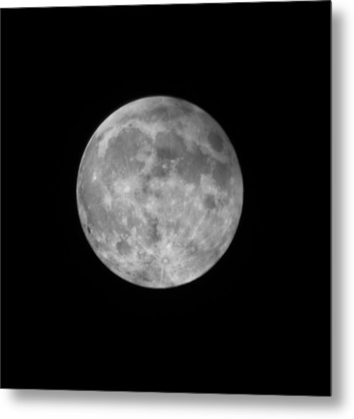 2015 Super Moon Metal Print