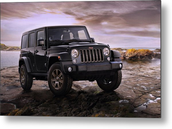 2016 Jeep Wrangler 75th Anniversary Model Metal Print