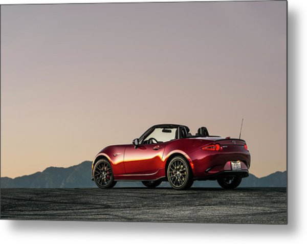 2016 Mazda Mx-5 Miata Metal Print by Drew Phillips