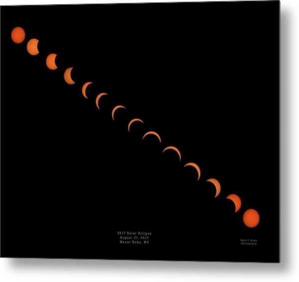 2017 Solar Eclipse Metal Print