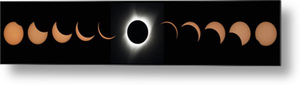 2017 Total Solar Eclipse Metal Print