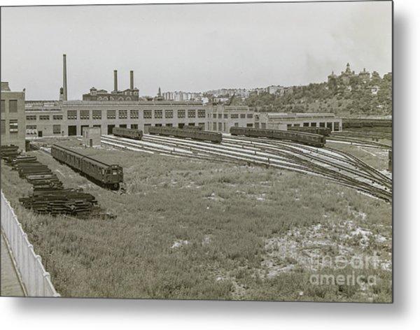207th Street Railyards Metal Print