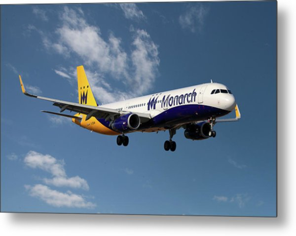 Monarch Airlines Airbus A321-231 Metal Print