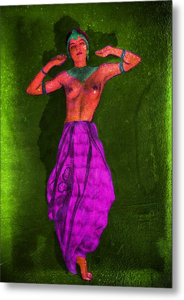 Nude Woman Metal Print
