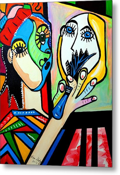 Artist Picasso Metal Print