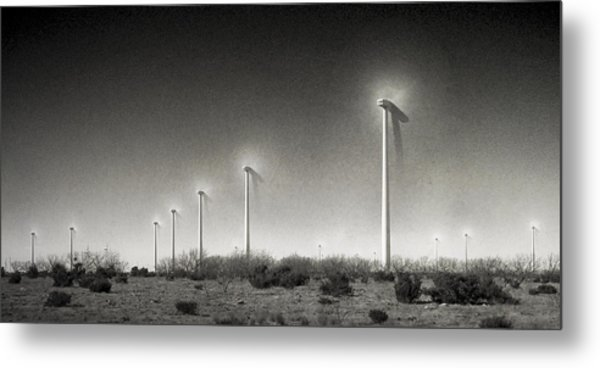 21st Century Green Metal Print by Mike McMurray
