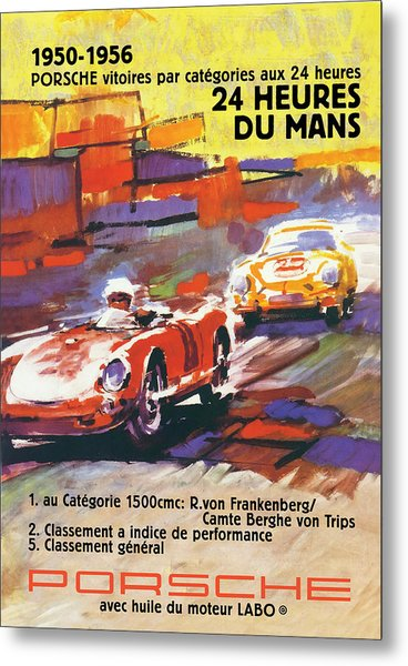 24 Hours Of Le Mans Metal Print