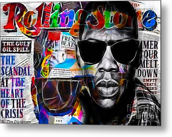 Jay Z Collection Metal Print