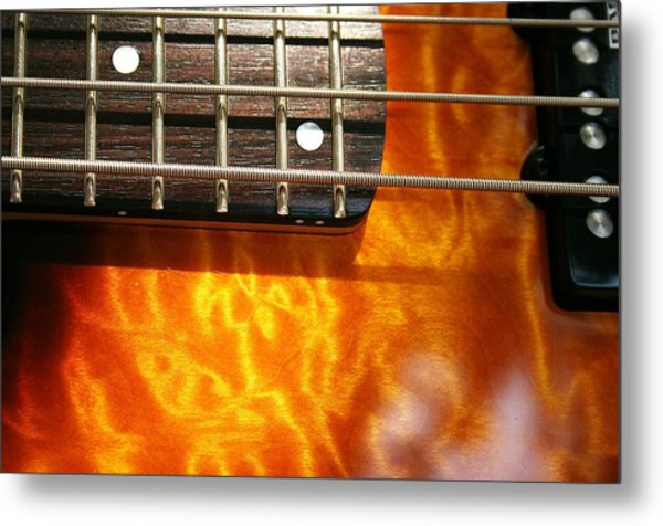 24th Fret Metal Print