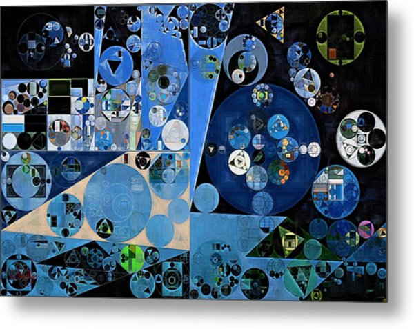 Abstract Painting - Onyx Metal Print