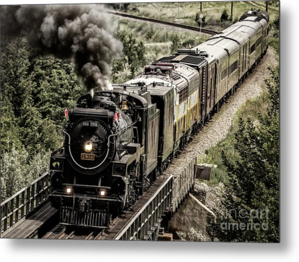 2816 Empress At Seebee Crossing Metal Print
