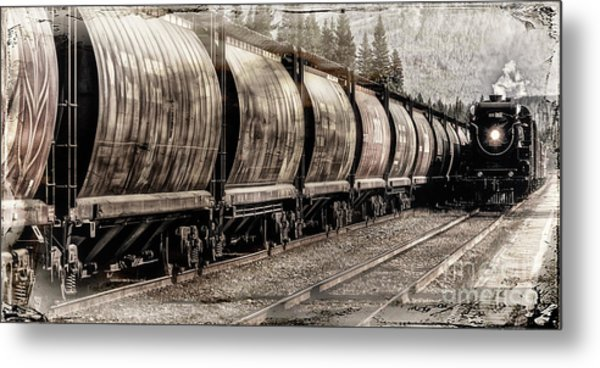 2816 Empress Passing Grain Metal Print
